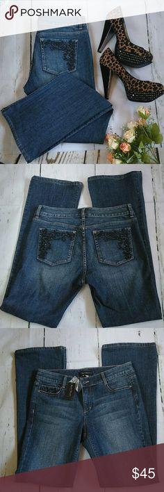 White House Black Market New Jeans Boot leg  jeans....size 6R White House Black Market Jeans