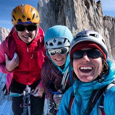 Madeline Sorkin on Cerro Torre  #outdoorresearch