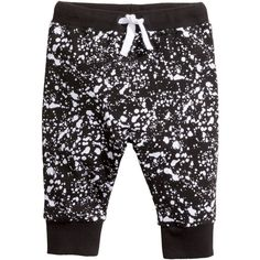 Patterned Sweatpants $14.99 (225 ARS) ❤ liked on Polyvore featuring activewear, activewear pants, pattern sweatpants, jogger sweatpants, jogger sweat pants, sweat pants and print sweatpants