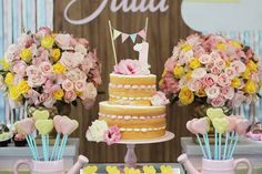 You Are My Sunshine themed birthday party via Kara's Party Ideas KarasPartyIdeas.com #youaremysunshineparty (26)