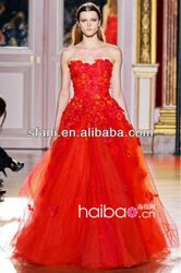 Zh-13tulle Ball Gown Zuhair Murad Wedding Dresses With Flowers - Buy Zuhair Murad Wedding Dresses,Red Ball Gown Wedding Dress,Ball Gown Indian Wedding Dresses Product on Alibaba.com