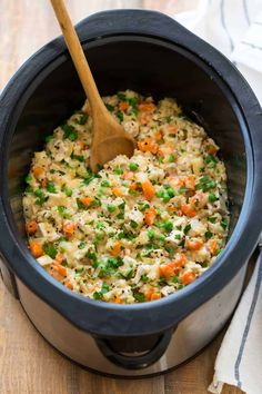 This Slow Cooker Chicken & Rice Is the Easy Meal You Crave — Delicious Links