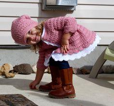 Isla Cardigan (Rufflyn) – Crocheted Little Ones