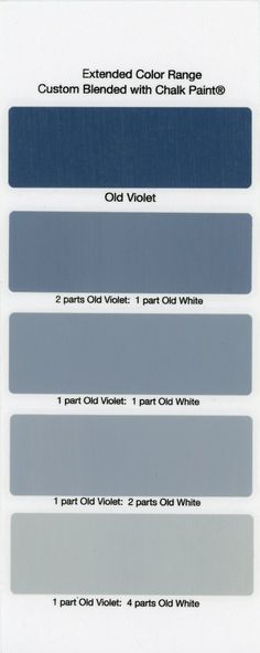 house Chalk Paint Sample Board Colors- all in a row Chalk Paint Colors Furniture, Chalk Paint Projects, Colorful Furniture, Painted Furniture, Painted Ladies, Purple Painted Lady, Annie Sloan Chalk Paint Colors, Annie Sloan Paints, Natural Living