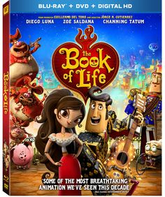 """Book of Life"" is Arriving on Blu-ray/DVD #BOLinsiders @FHEInsiders (& Giveaway Ends 2/6)"