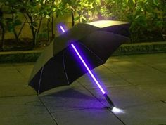 Ever wonder what a Jedi's umbrella would look like? If we had to take a guess, we'd say the light up umbrella comes pretty close. The light up umbrella is a unique and fun way to stay nice and dry in unpredictable weather while also standing out from the masses of old fashioned umbrellas that…