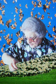 Edna The Collector, John Turck Collage