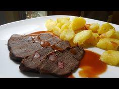 Srnčie stehno na víne - recept z diviny. Meat, Food, Essen, Meals, Yemek, Eten