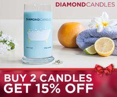 Save 15% At Diamond Candles