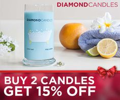 Tri Cities On A Dime: PURCHASE A DIAMOND CANDLE AND HAVE A CHANCE TO WIN...