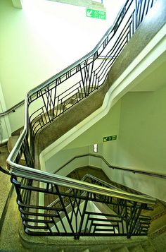 Hoover Building stairwell