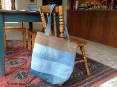 Emilie's bag Up cycled denim