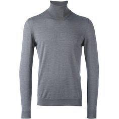 Zanone turtle neck jumper (340 CAD) ❤ liked on Polyvore featuring men's fashion, men's clothing, men's sweaters, grey, mens gray sweater, mens grey sweater, mens turtleneck sweater, mens grey turtleneck sweater and mens gray turtleneck sweater