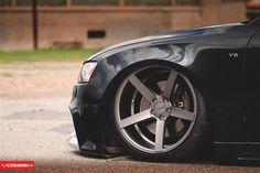 "Audi S5 on bags....featuring the Vossen CV3 20"" Concave wheels    http://www.vossenwheels.com/CarGallery/Audi-A5%20|%20S5-VVSCV3-725.aspx"