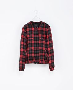 CHECKED JACKET - Jackets - TRF - New collection | ZARA United States