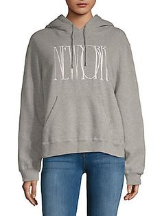 Public School Graphic Heathered Hoodie In Heather Grey School Fashion, Public School, Hoodies, Sweatshirts, Hooded Jacket, Heather Grey, Graphic Sweatshirt, Clothes For Women, Sweaters