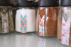 DIY Spice Labels (Printable)
