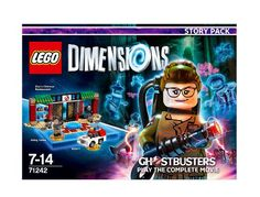 Figurine 'Lego Dimensions' - SOS Fantômes Ghostbusters - Pack Histoire…