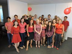 A couple of images from our recent Chinese New Year celebrations. The Auckland office turned out in red!