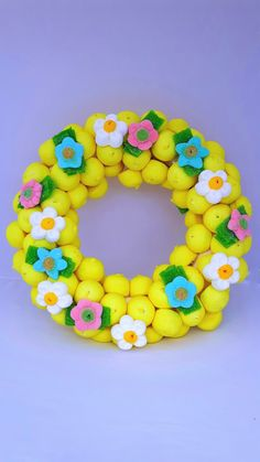 Sweet April: Corona de flores 35€