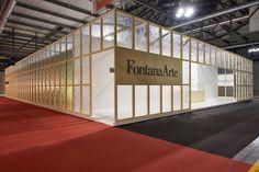 FonatanaArte Euroluce 2013 Stand Design by Luca Nichetto