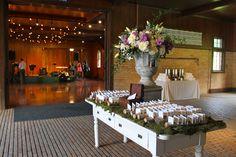 Tim and Amelia's Wedding at Shelburne Farms inside the Coach Barn