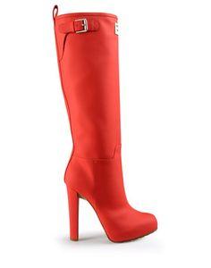 cute rain boot heels :p