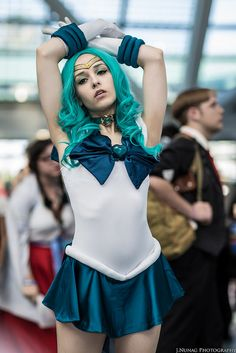 Sailor Neptune #Cosplay #AX2014