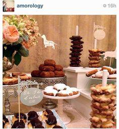 donut bar wedding - Google Search