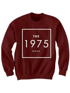 The 1975 band sweatshirt band shirts celebrity shirts womens tops unisex tees Band Merch, Band Shirts, The 1975 Merch, The 1975 Shirt, 1975 Band, Concert Tickets, Logo Color, Direct To Garment Printer, Graphic Sweatshirt