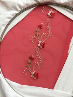 Call or whatsapp 9035330901 for handworked marterials – Embroidery Desing Ideas Hand Embroidery Design Patterns, Diy Bead Embroidery, Zardozi Embroidery, Hand Embroidery Flowers, Hand Work Embroidery, Crewel Embroidery, Brazilian Embroidery Stitches, Churidar, Embroidery Hoop Crafts