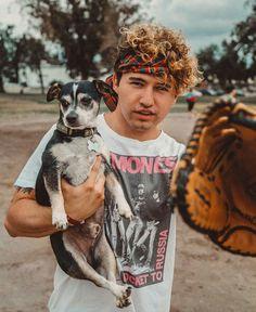 Awwwww Jc and Wishbone O2l Kian, Cute Youtubers, Bae, Kian Lawley, Jc Caylen, Cute Guys, I Love Him, My Boys, Boston Terrier