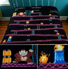 8-Bit Game Blankets Keep You Warm with Plenty of Pixels  October 2nd, 2012