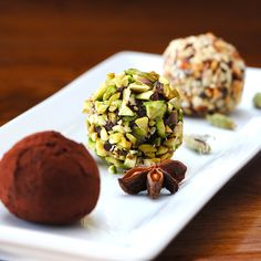 Turkish Coffee Truffles - seriously have to make some one day!