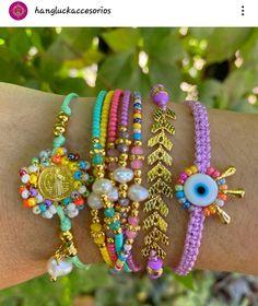 Jewel Box, Beaded Bracelets, Jewels, Nails, Ideas Para, Fashion, String Bracelets, Bangles, Ear Studs