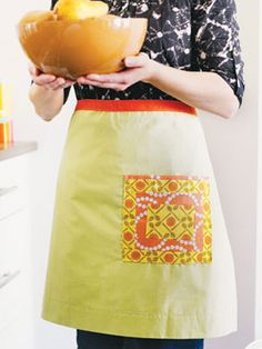 Craft Project: Retro Patchwork Apron