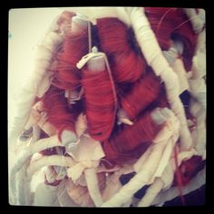 One I forgot to post showing my rag ringlets. #meridacosplay #wigmaking #ragringlets #Merida #cosplay