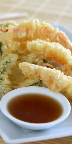 You can make homemade tempura batter so easily. Enjoy all sorts of fried fresh vegetables, and tempura fried shrimp with this easy recipe. Tempura Vegetables, Shrimp And Vegetables, Fresh Vegetables, Veggies, Seafood Recipes, Cooking Recipes, Fried Shrimp Recipes, Oven Recipes, Easy Cooking