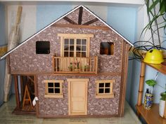 como hacer casitas en miniatura - Buscar con Google