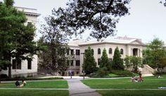 American University - where I will hopefully, hopefully, be studying for an MFA in Creative Writing...