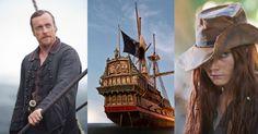 An impressive pirate ship built for Black Sails. Black Sails Tv Series, Moby Dick, Bateau Pirate, Toby Stephens, Old Sailing Ships, Pirate Adventure, Pirate Life, Set Sail, Treasure Island