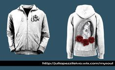 "De la firma ""niRah"" de Julia Pezzi Leiva, sale el nuevo proyecto MySoul. GirlRosesTattoo sudadera Blanca #Camisetas #Diseño #Tshirt #Nerja #MySoul #TattooArt #Moda #ModaMujer #ModaHombre #tshirt #Roses #CamisetasExpresivas #Originales #Original #DiseñoCamisetas #Rosas #Sudadera"