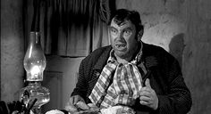 """Andy Devine in """"The Man Who Shot Liberty Valance"""" (1962)"""