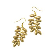 Our Charm Earrings are #handmade from recycled magazines! #ecofashion #fairtrade