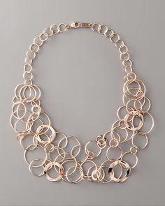 Rose Multi-link Necklace - Lyst