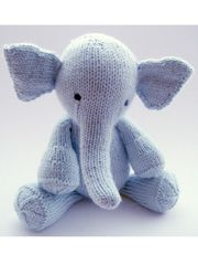 I just love Elijah the elephant. I have been looking at him for several months now..One of these days I want to get him. It is the perfect gift for grand babies. I am redoing a crib mobile and have thought of him again. But instead of doing it in yarn, knitting him with crochet thread and putting him in the mobile.