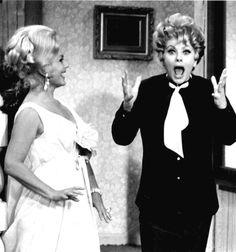 Eva Gabor & Lucille Ball