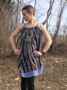 Womens Dress/Simple Dress/ Maternity/ Size by RebirthRecycling, $65.00