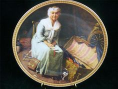 Edwin Knowles China Plate #19751D Norman Rockwell's Rediscovered Women 12th  EUC