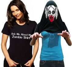 'Ask Me About My Zombie Shirt' is Perfect for Halloween